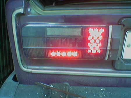 Светодиоды в фонари ваз 2106