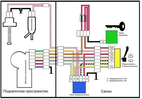 Схема подключения центрального замка ваз 2109 фото 355