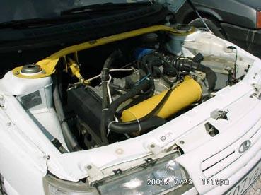 На подготовленных моторах используется схема с двумя турбинами.  На низких оборотах используется одна...