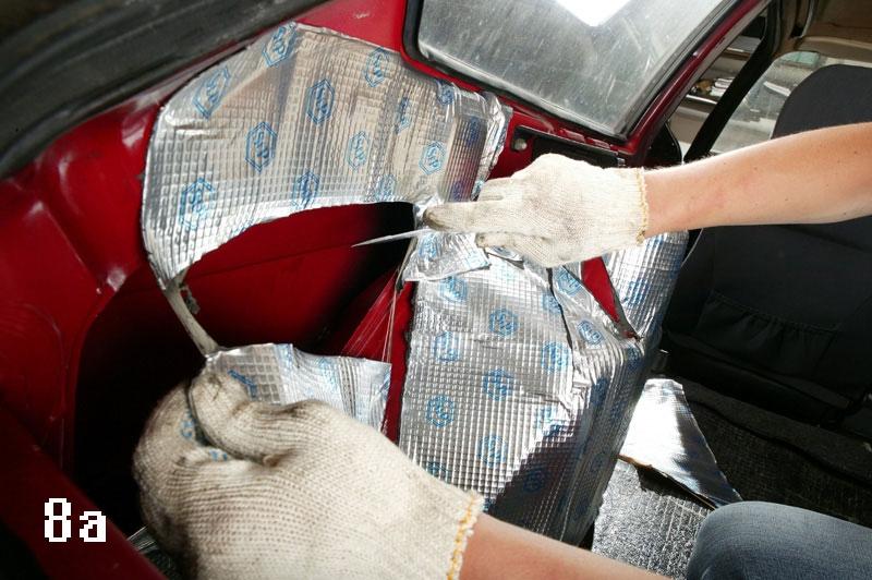 175Изготовление шумоизоляции подручных средств для авто
