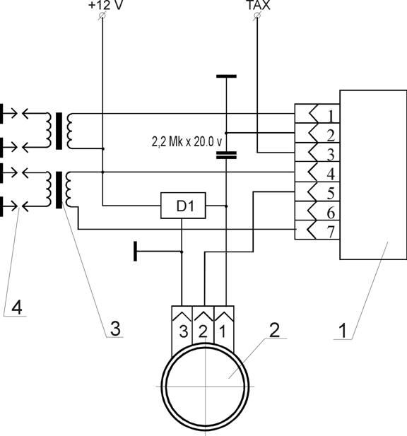 """""""Система со статическим распределением энергии часть 1  """": схема подключения катушки зажигания опель рекорд."""
